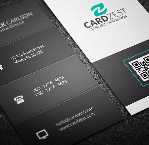 business cards - Vertical Business Cards